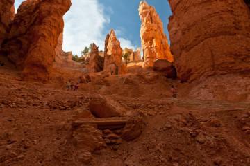 16./17.6. Bryce Canyon - Navajo Trail and Wall Street