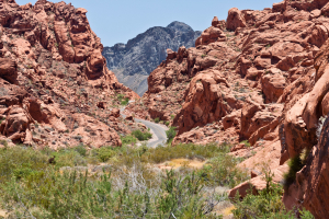 19.6. Valley of Fire - Picknick an Mouse's Tank
