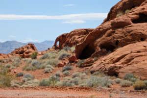 19.6. Valley of Fire - am Visitor Center