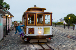 8.-11.7. San Francisco - Cable Car