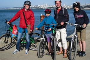8.-11.7. San Francisco - Radtour