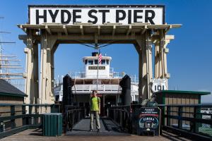 8.-11.7. San Francisco - Hyde Street Pier