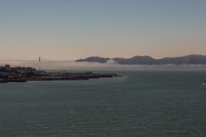 8.-11.7. San Francisco - Bay & Nebel