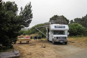 13.-15.7. MacKerricher SP - Surfwood Campground