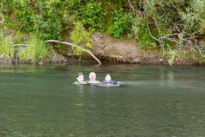 15.-17.7. Humboldt Redwoods SP - Baden im Eel River