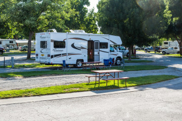 17./18.7. Red Bluff RV Resort