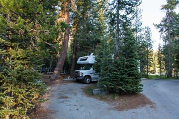 18.-20.7. Lassen NP - Summit Lake North CG