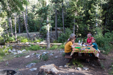 23.-25.7. Great Basin NP - Upper Lehman Creek CG