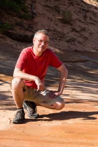 27.7. Dinosaur Tracks im Coral Pink Sand Dunes SP