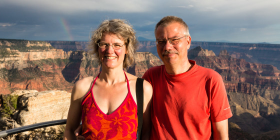 27.7. Grand Canyon North Rim - Bright Angel Trail
