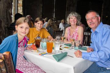 31.7. Dinner in der North Rim Lodge