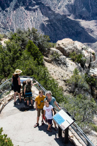 1.8. North Rim - Bright Angel Trail
