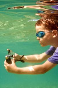 Die Unterwasser-Ixus in Action