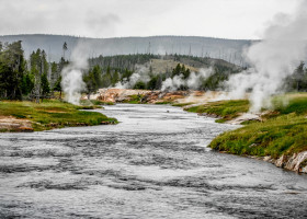 Yellowstone: Firehole River