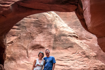 12.7. Arches NP - Sand Dune Arch