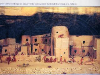 Mesa Verde: Spruce Tree House, vor 800 Jahren
