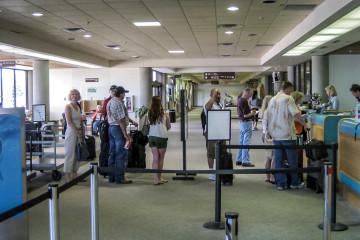 Durango International Airport - es geht ruhig zu ;-)