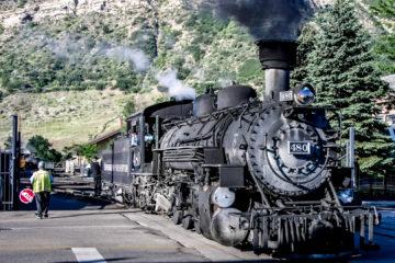 Durango&Silverton Narrow Gauge Railroad - der Geburtstagsausflug :-)))