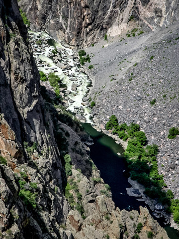 19./20.7. Black Canyon of the Gunnison