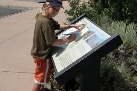 19./20.7. Black Canyon of the Gunnison, Junior Ranger