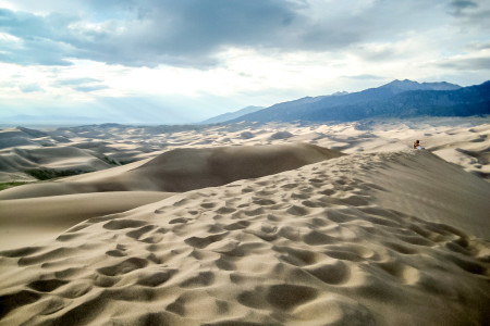 22.-24.7. Great Sand Dunes - High Dune Besteigung