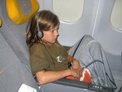 25.7. Entspannter Rückflug :-)