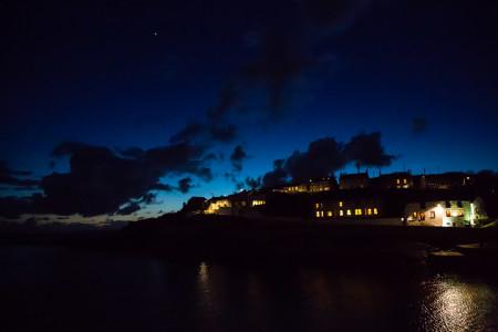 Porthleven at night