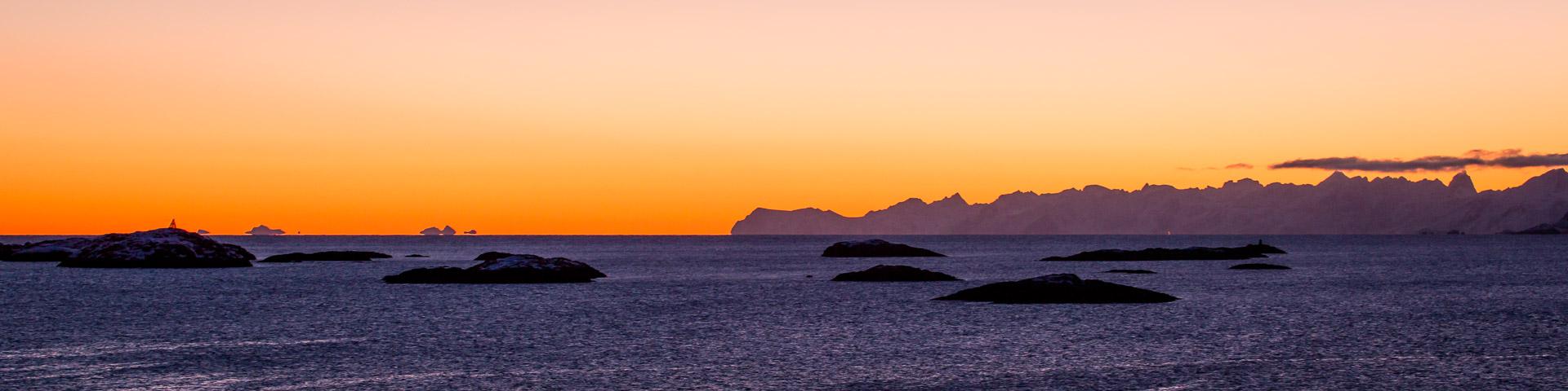 11.2. Henningsvaer - Sonnenuntergang