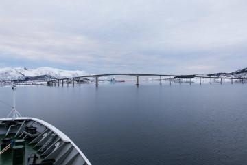 12.2. Hurtigruten, Harstad-Svolvaer