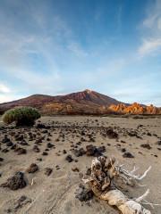 12.11. Sonnenuntergang Caldera, Teide