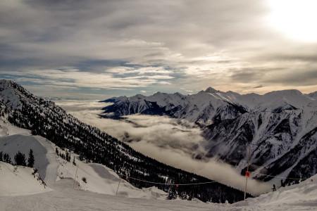 21.1.2015 - Downhill, Kicking Horse Ski Area