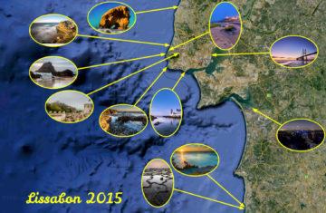 20.-27.9.2015: Locations des Fotoworkshops Lissabon