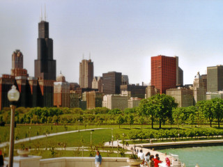 Grant Park, Sears Tower.