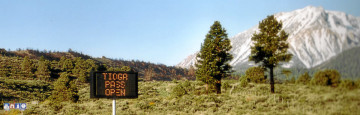 Erster Tag der Öffnung des Tioga Pass.