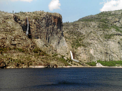 Hetch Hetchy Reservoir.