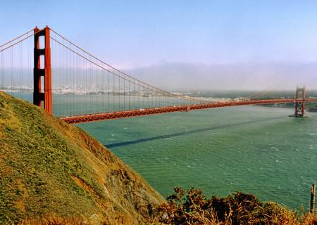 Begrüßungsblick auf San Francisco :-)