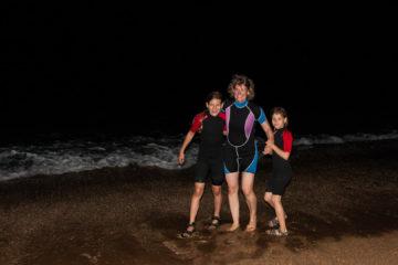 28.7.: Mitternachtsschwimmen ;-)