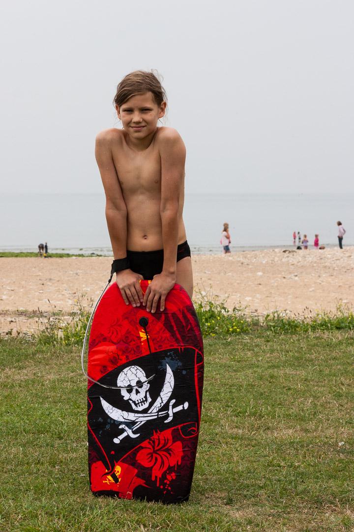 29.7.: Am Strand von West Bay