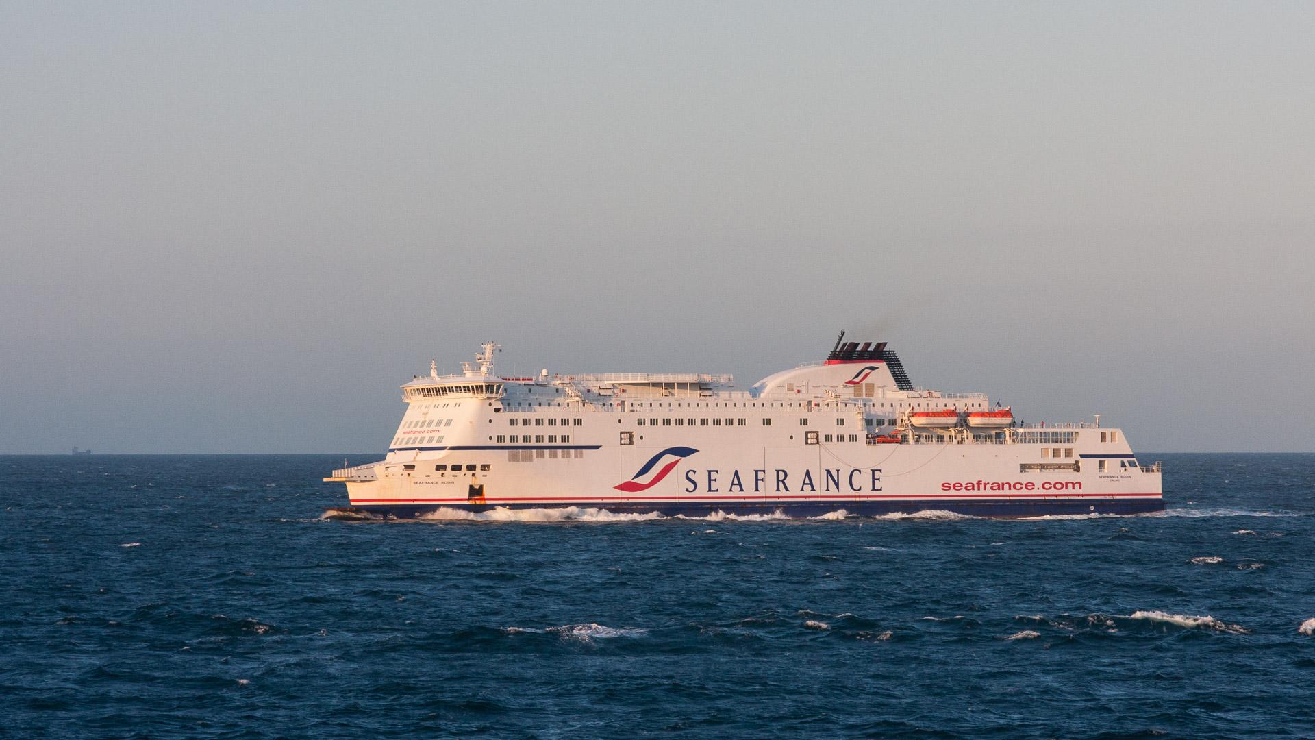14.8.: Überfahrt Dover-Calais
