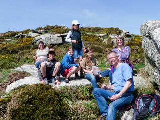 6.4.: Hiking at Lamorna Cove
