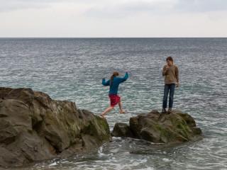 6.4.: Am Strand von Porthleven