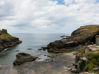 26.7. Castle Beach, Tintagel