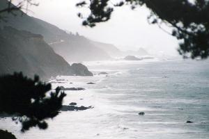 Big Sur im Regen.