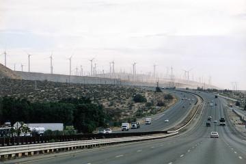 Interstate zwischen L.A. und Palm Springs