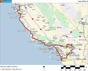 USA 2002: Von San Francisco über Umwege nach Los Angeles.