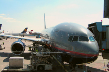 """""""Unsere"""" United Airlines 767"""