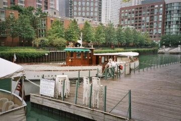 """Abfahrt zur """"Architectural River Tour"""""""