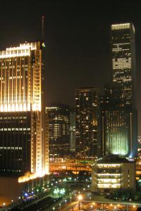 Chicago Downtown - vom Best Western Inn of Chicago.