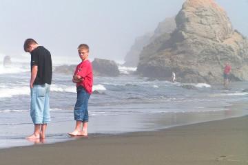 Pazifik in Nordkalifornien