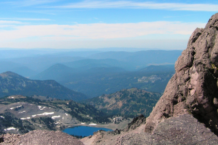 Blick vom Lassen Peak